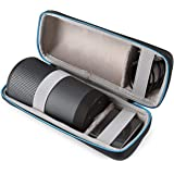 Hard Carrying Case Travel Storage Compatible with Bose SoundLink Revolve(Fits Charging Cradler and USB Cable)