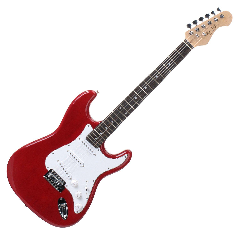 Rocktile guitare électrique sphere classic rouge 00010476 Guitares électriques