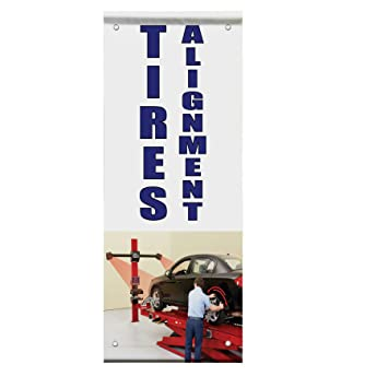 Amazon.com : Car & Truck Repair Car Auto Body Shop Repair Double Sided Pole Banner Sign 30 in x 60 in w/ Wall Bracket : Office Products