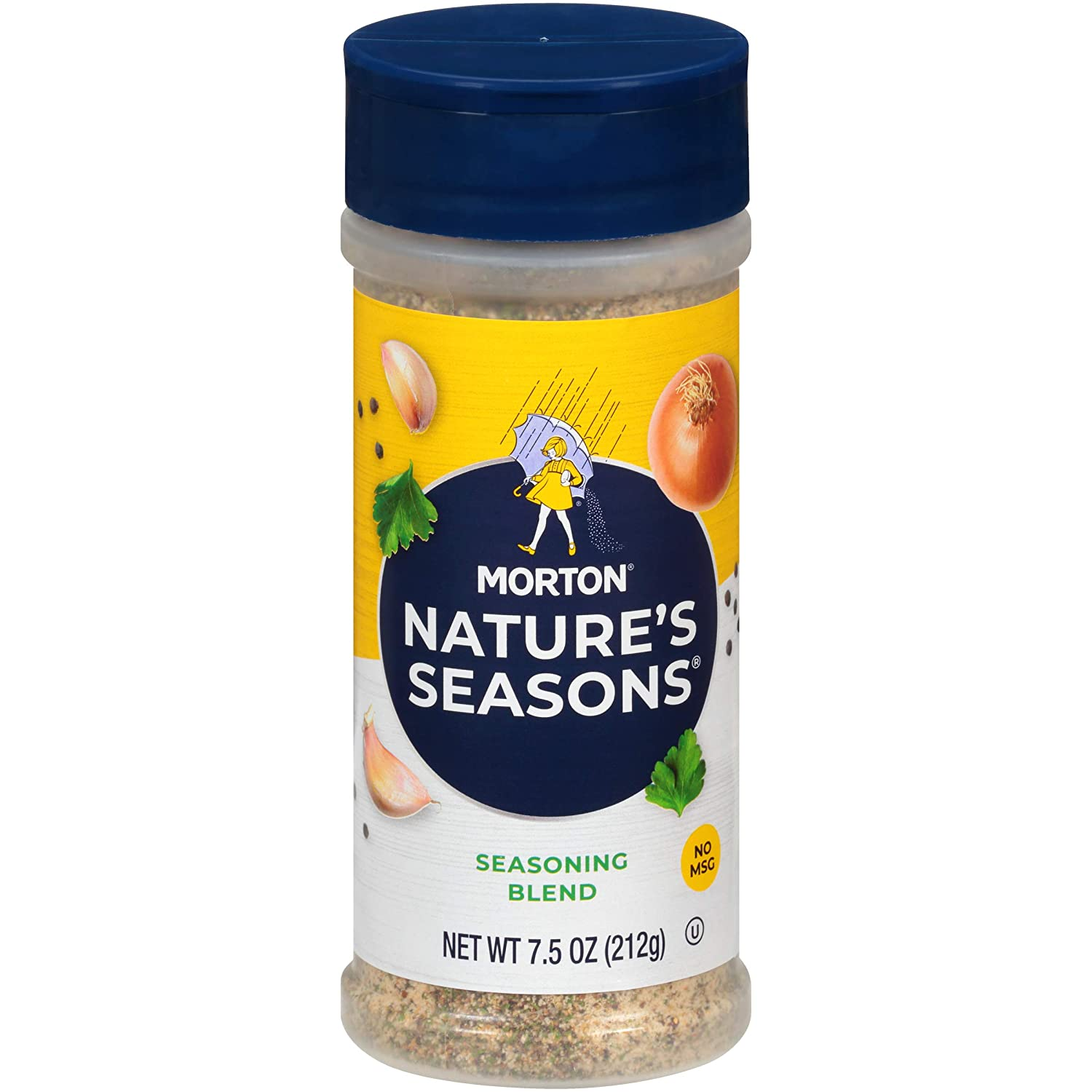 Morton Nature's Seasons Seasoning Blend, 7.5 Ounce Canister (Pack of 12) : Mixed Spices And Seasonings : Grocery & Gourmet Food
