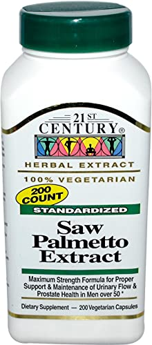 21st Century Saw Palmetto 450 mg 200 Vegetarian Capsules