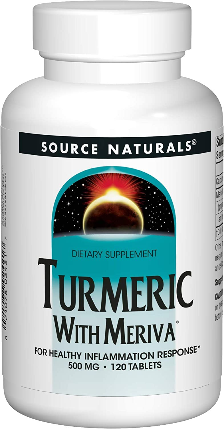 BlueBonnet Turmeric Root Extract Supplement, 120 Count
