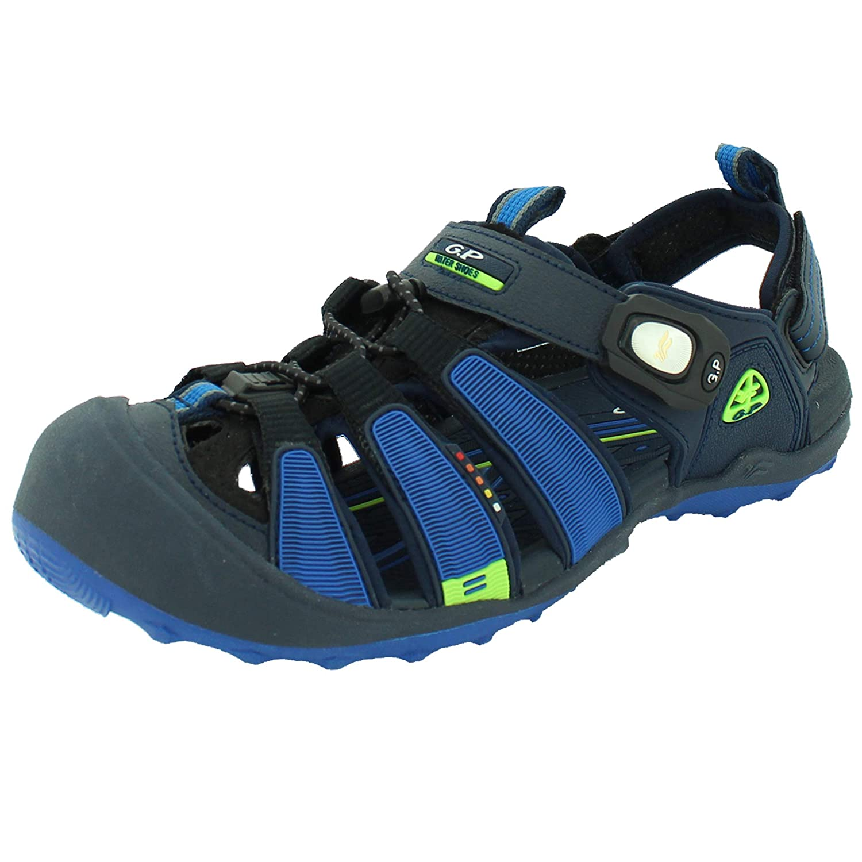 c3d979d3be65 Amazon.com  Gold Pigeon Shoes Toe Guards Closed Toe for Women   Men  Closed  Toe SNAP Lock Sandals Adjustable Straps  Shoes