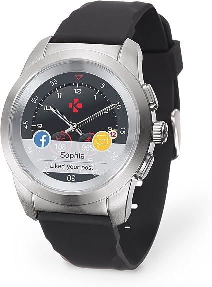 Amazon.com: MyKronoz ZeTime - Reloj inteligente híbrido ...