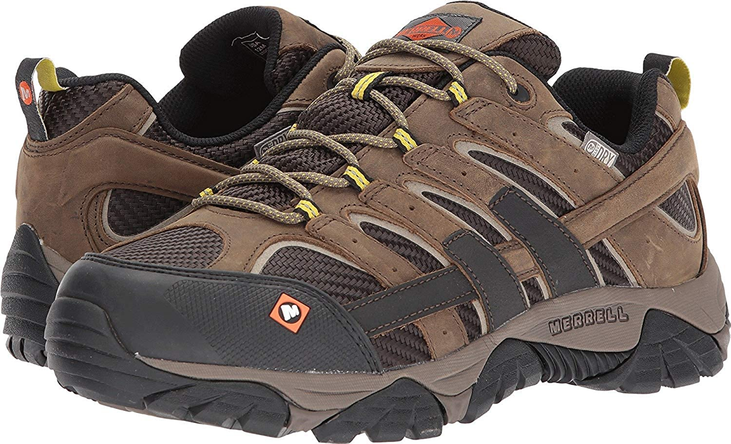 c2547513f7a Merrell Mens Moab 2 Waterproof hicking Shoe