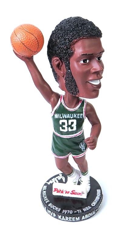 Kareem Abdul Jabbar Signed Autographed Bobblehead Milwaukee Bucks Beckett J57344