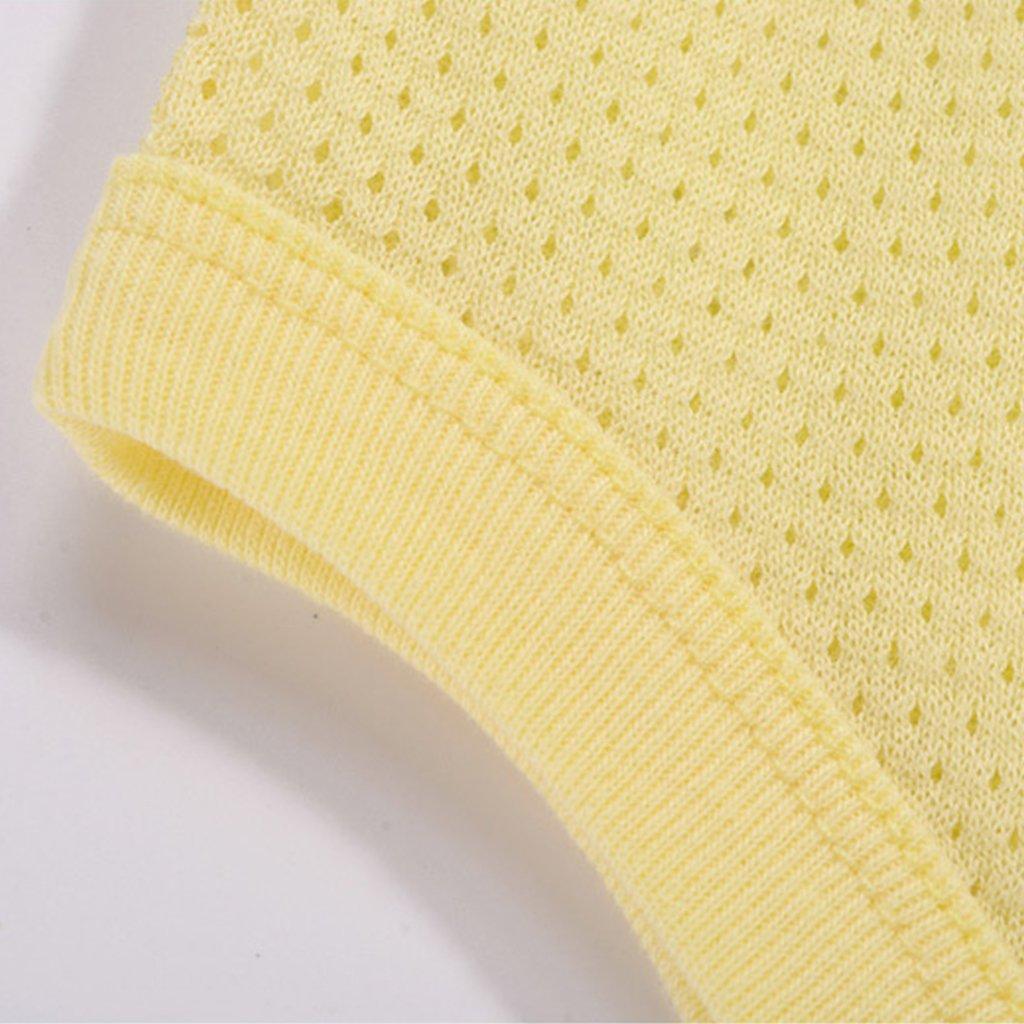 Baby M/ädchen Achselbody im 2er Pack Baumwolle Body ohne Arm Eis Mesh Schlafanzug 3-6 Monate