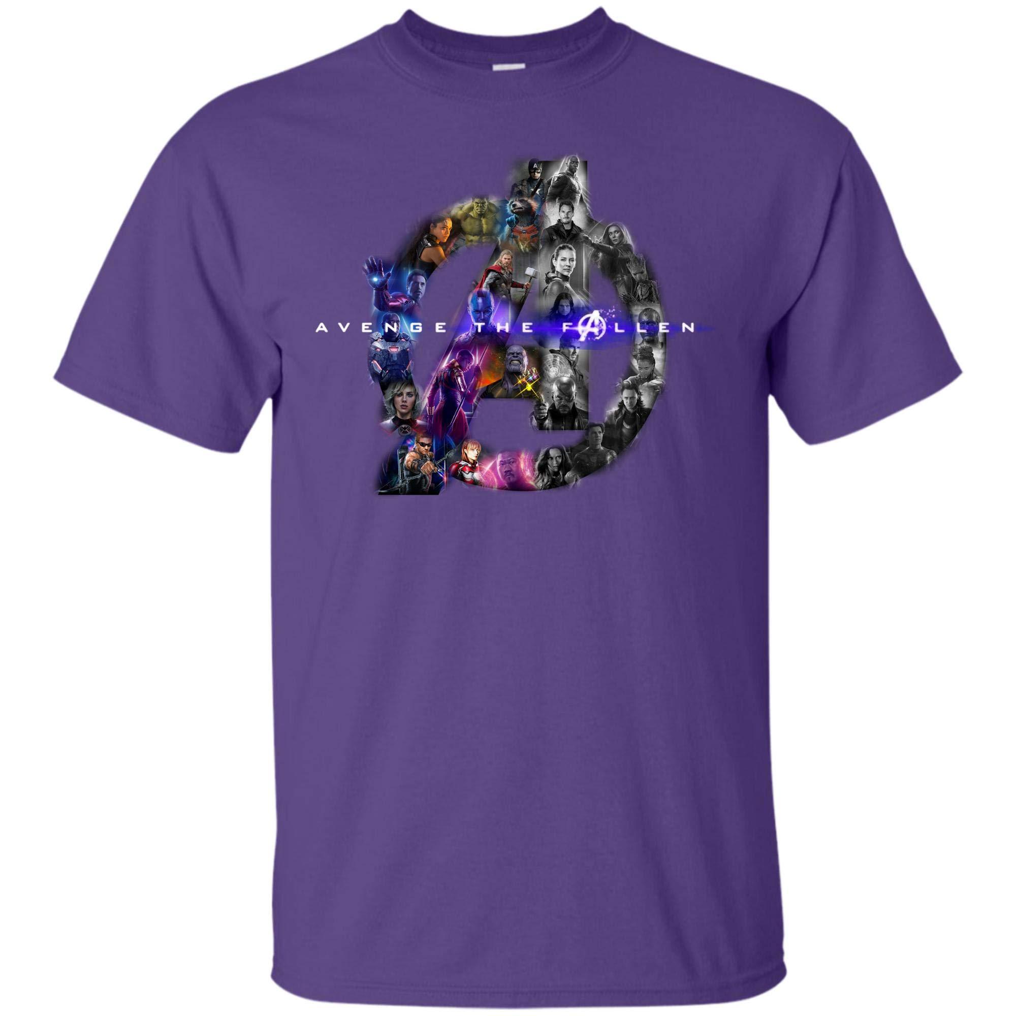 Avenger End Game T Shirt Avenger The Fallen With T Shirt 4174