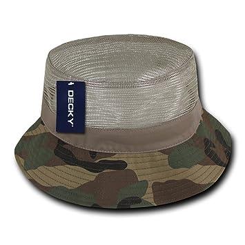 Decky Mesh Bucket Hat  Amazon.co.uk  Sports   Outdoors e20b2e5104b