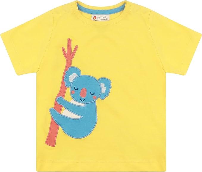 Piccalilly - Camiseta para niño, Jersey Suave, algodón orgánico ...