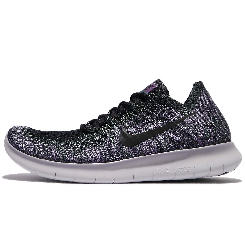 huge discount 771f1 56fee Amazon.com   Nike Women s Free RN Flyknit 2017 Running Shoe Vintage Green  Black-Purple Basalt 6.0   Road Running