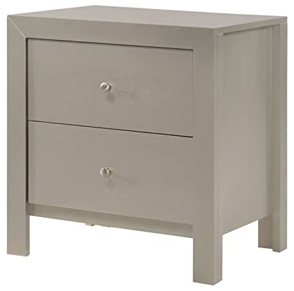 Amazon Com Glory Furniture Burlington G2403 N Silver Champagne