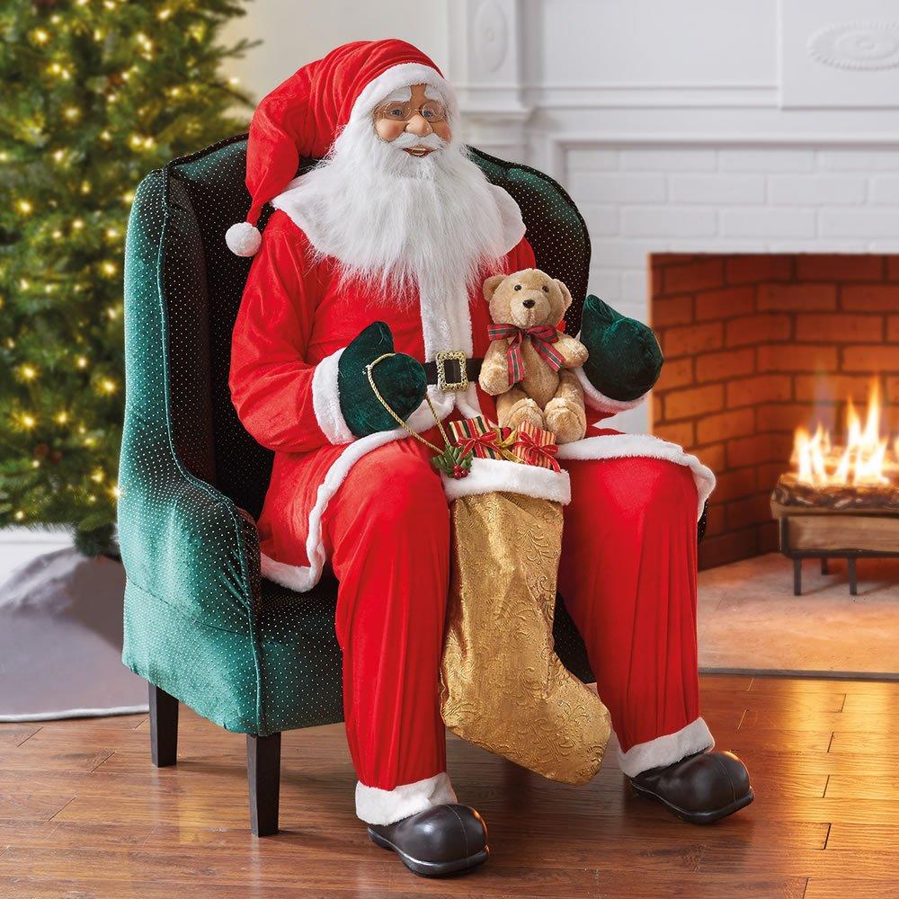 The Inflatable Resplendent Santa