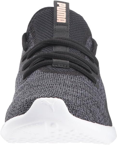 78286aae125e Amazon.com   PUMA Women's Carson 2 X Knit Wn Sneaker Black-Periscope ...
