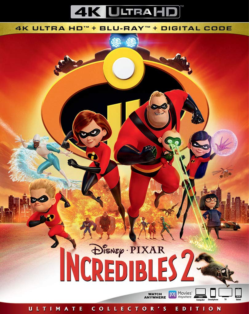 Amazon.com  INCREDIBLES 2  Blu-ray   Craig T. Nelson abfc93340c