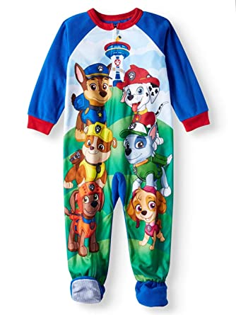 1500d974d Amazon.com  Paw Patrol Toddler Footed Pajamas Blanket Sleeper ...