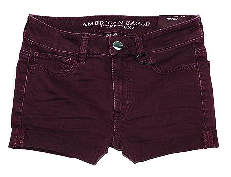 38793907d09 American Eagle Women's Hi-Rise Shortie Shorts W-23 at Amazon Women's ...