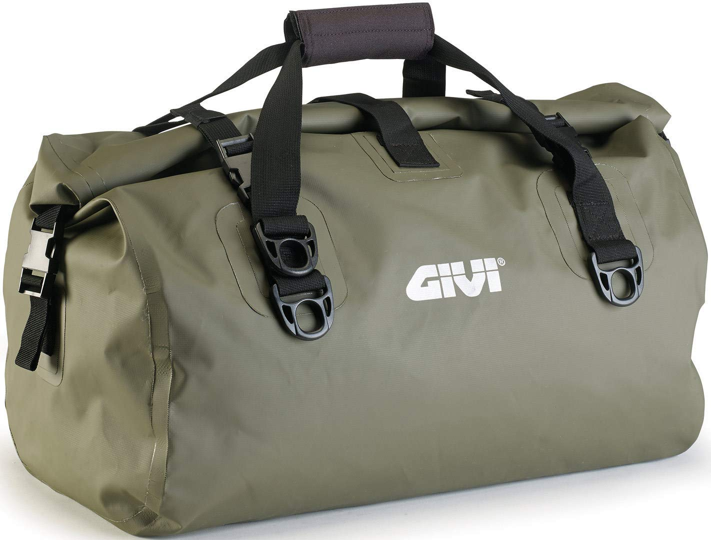 bdca2b49d9 Givi EA115KG Motorcycle Motorbike Waterproof Cylinder Seat Bag 40 Litre -  Green  Amazon.co.uk  Car   Motorbike