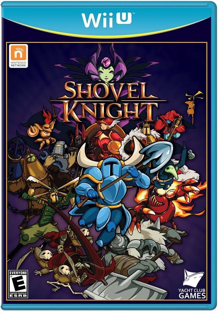 Amazon.com: Shovel Knight - Wii U: nintendo wii u: Ui ...