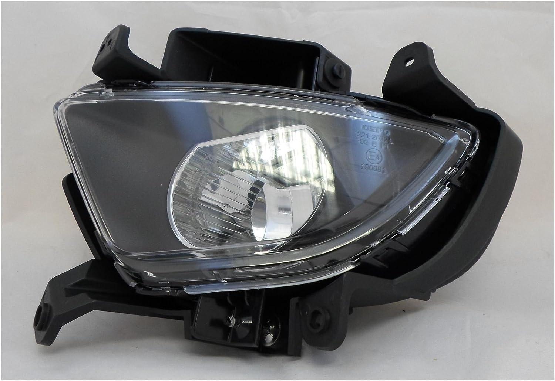 TRUPART LTD Hyundai i30 2010-4//2012 Spot Fog Light Lamp Passenger Side N//S