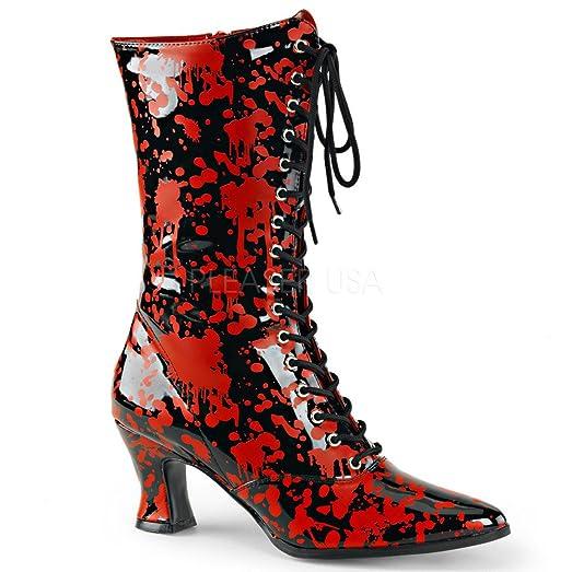 Funtasma Victorian 120BL Mid Calf Boot (Women's) GzlusZm
