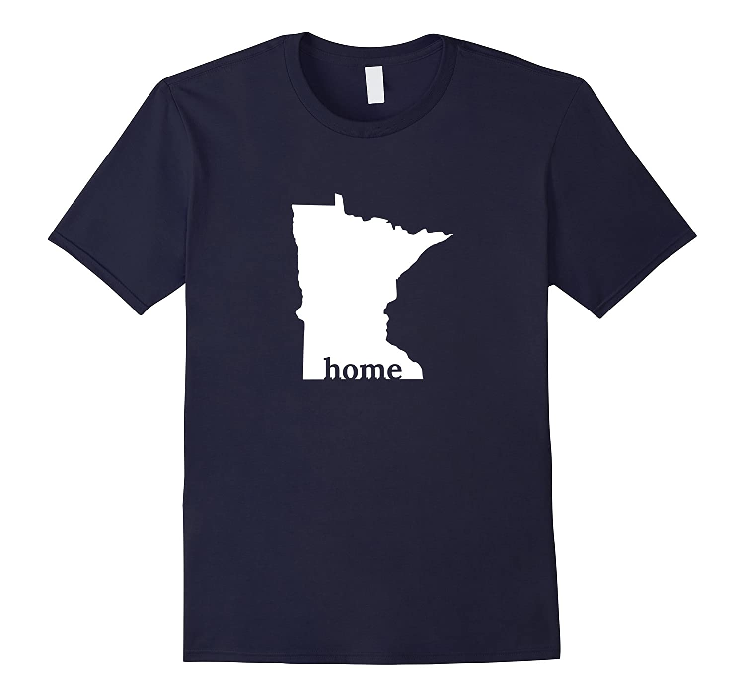 Minnesota State is My Home T-Shirt - MN Gift-T-Shirt