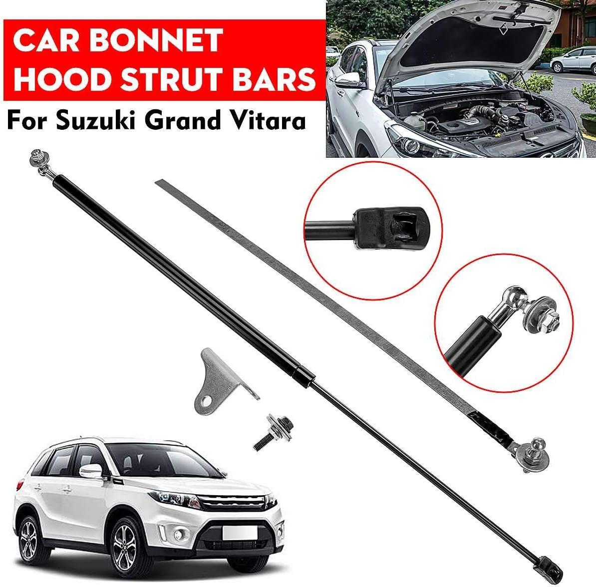 F/ür Suzuki Vitara 2016-2019 TAYDMEO 1 St/ücke Vordere Motorabdeckung Motorhaube D/ämpferheber Federbeine Bar Support Rod Arm Gasfeder Halterung