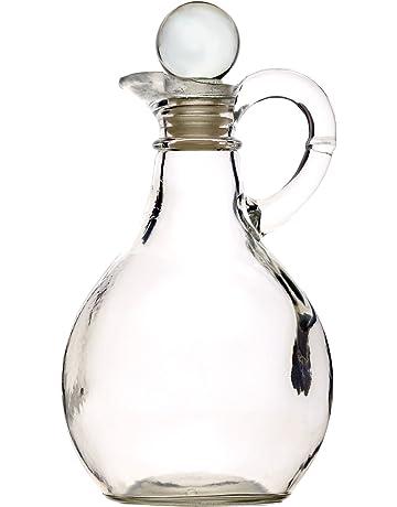 Kilner Glass 500ml Oil Balsamic Vinegar Dressing Dispenser Pourer Bottle