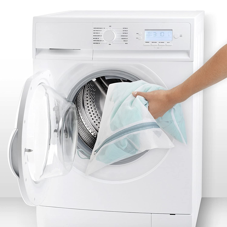 1 de 45 x 33 cm Brabantia 105388 blanco Juego de 3 bolsas para lavadora 2 de 33 x 25 cm