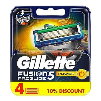 Gillette ProGlide Power blades – Hoja – Pack de 4: Amazon.es