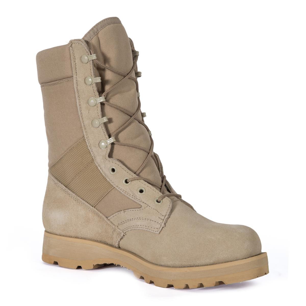 Rothco 8'' Desert Tan Sierra Sole Boot, Regular 9