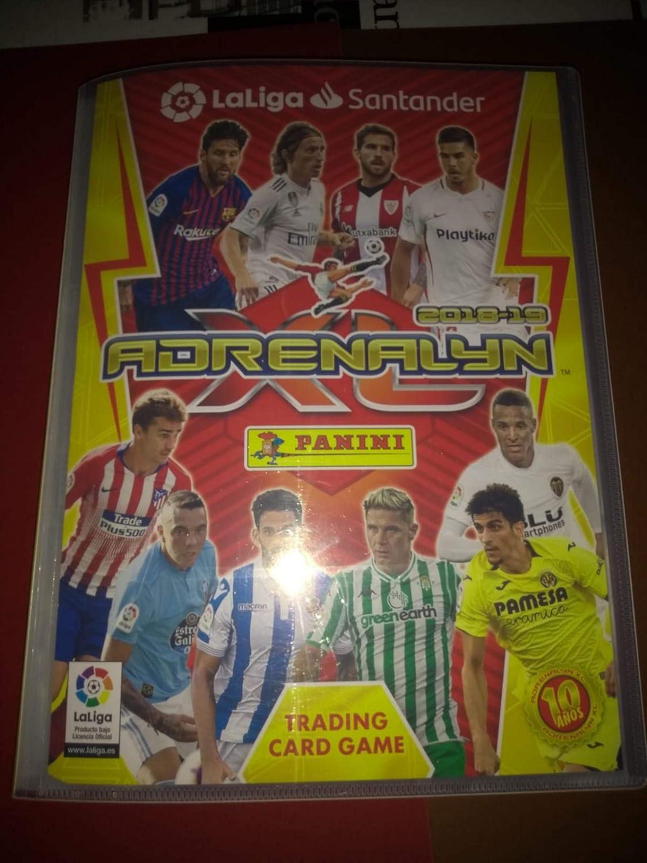 Adrenalyn Archivador + Colección Completa con Limitadas y Balones ...