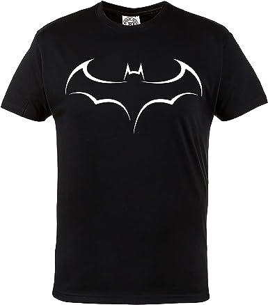 Dark Knight Super h/éros Batman Rule Out Hommes T-Shirt Casual Wear