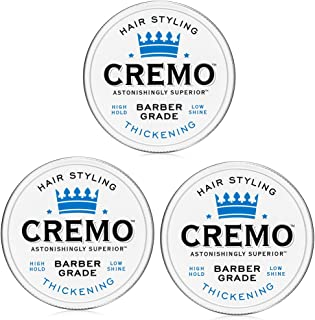 product image for Cremo Barber Grade Hair Styling Thickening Paste, 4 Ounce (Pack of 3)
