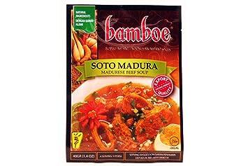 Amazon Com Bamboe Bumbu Soto Madura Maduranesse Beef Soup