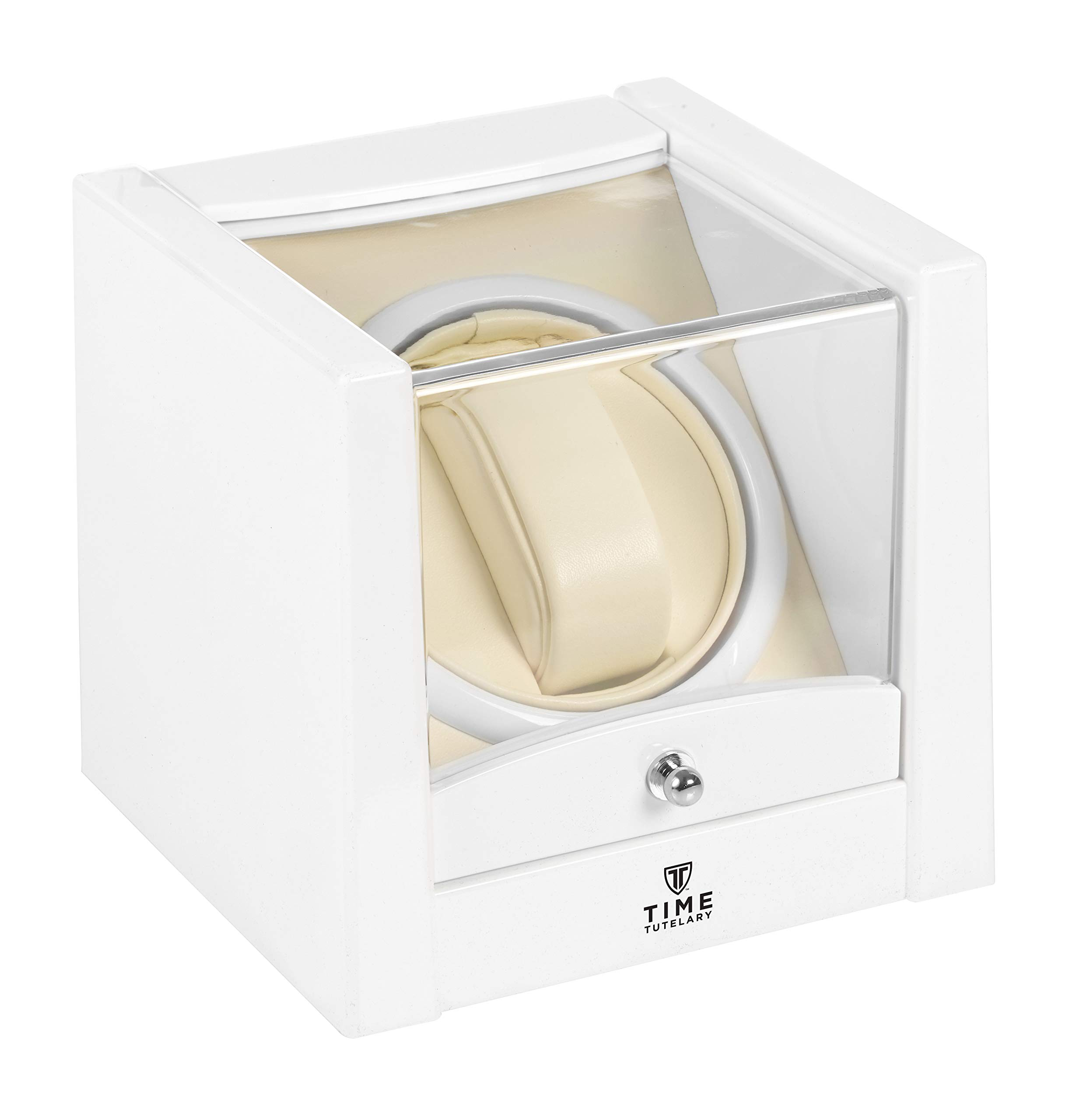 Time Tutelary KA079 Automatic Single One Watch Winder White by Time Tutelary (Image #2)
