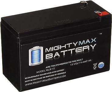 Amazoncom Mighty Max Battery