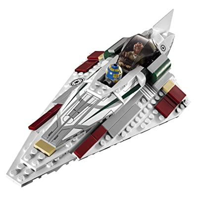 Lego Star Wars Mace Windu's Jedi Starfighter (7868) - Extremely Rare: Toys & Games