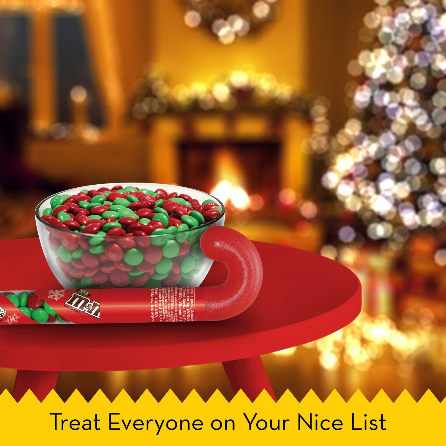 Amazon M&M S Holiday Milk Chocolate Can s in Christmas Candy