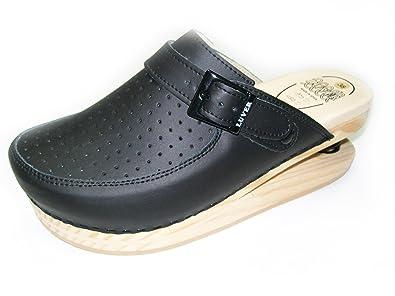 LUVER Sandali con molla 2101/A colore nero taglie 40 OhDjZ4