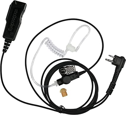 1-wire Surveillance Earpiece For Motorola CP88 CP110 CP150 CP180 GP88 Portable