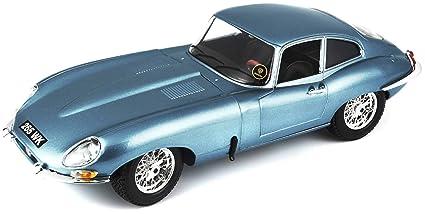 Bburago 1961 Jaguar E Type Coupe Diecast Model Die Cast Car (1:18 Scale