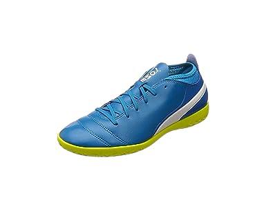 Puma Herren One 17.4 FG Fußballschuhe, Blau (Atomic Blue-White-Safety Yellow), 42 EU