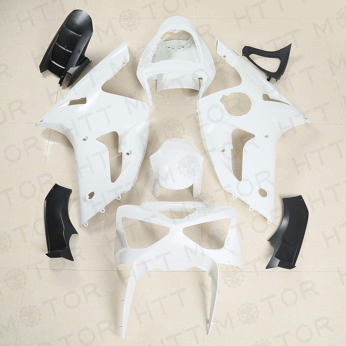Unpainted ABS Fairing Kit Fit For Kawasaki Ninja ZX-6R 2003-2004 Bodywork 03-04