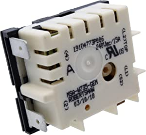 Supplying Demand WB24X22341 Cooktop Element Control Switch Compatible With GE Fits PS11721448