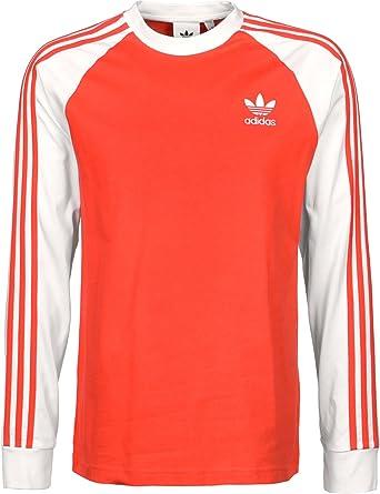 Adidas esDeportes CamisetaHombreAmazon 3 Ls T Stripes Aire Y fgYI6vb7y