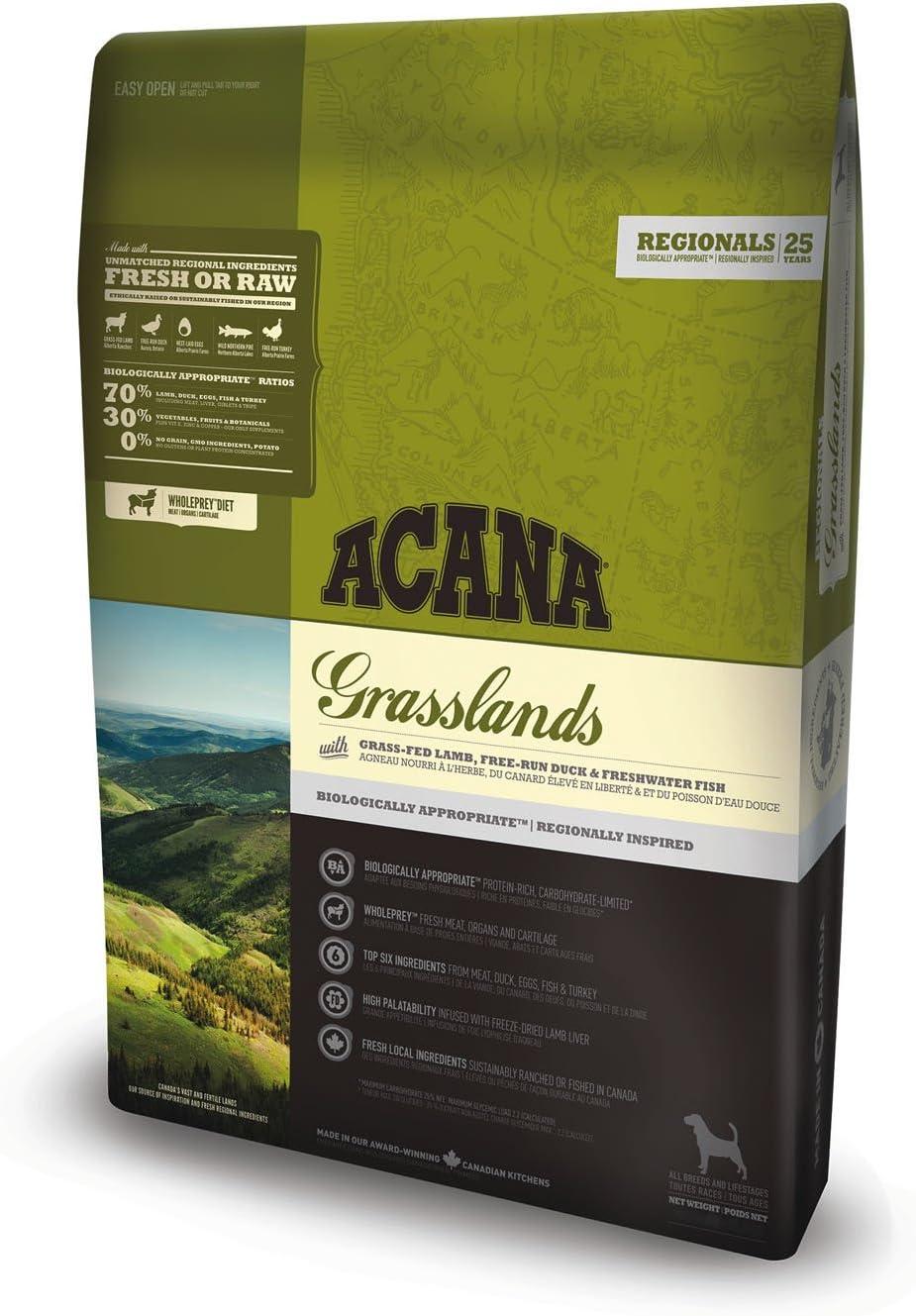 ACANA Grasslands Comida para Perros - 6000 gr