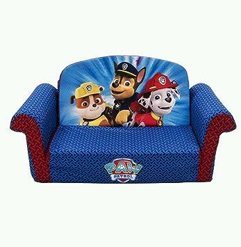 Amazon.com: Nickelodeon Paw Patrol Flip abierto sofá sofá ...