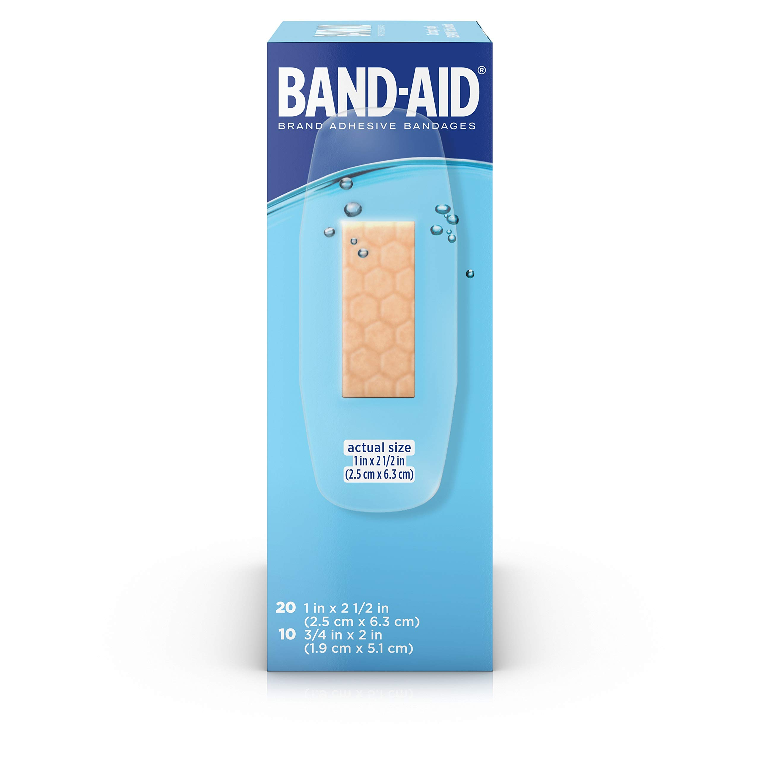Band-Aid Brand Water Block Plus Waterproof Clear Adhesive Bandages for Minor Cuts and Scrapes, 30 ct (6 Pack) by Band-Aid (Image #13)