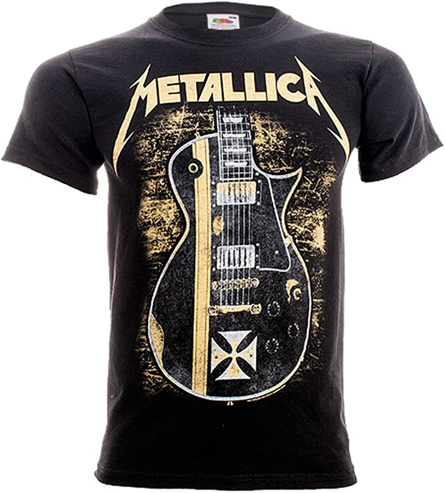 Camiseta guitarra de Metallica (Negro) - S: Amazon.es: Libros